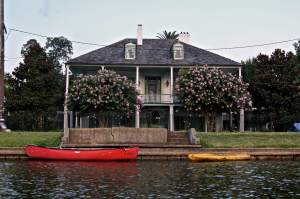 The Sanctuary Bayou St John New Orleans Louisiana
