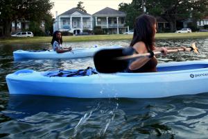 Paddling Bayou St John New Olreans Louisiana