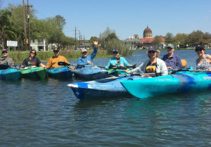 Group Paddling BSJ Rosary background 3-2016 cropped
