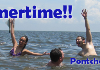 Poncthartrain Paddle Summer Banner